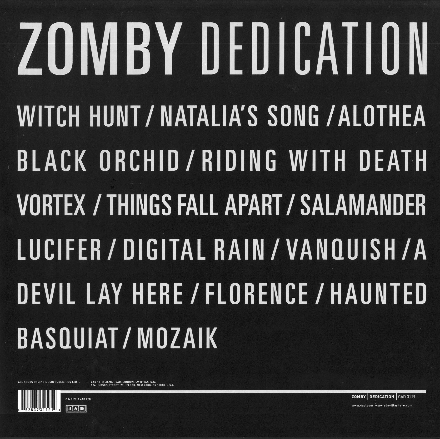 2011 - Zomby