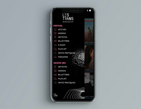 Application Mobile Trans Musicales 2019