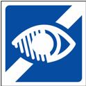 icone malvoyant