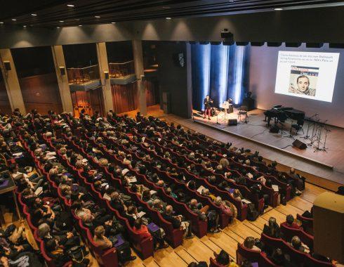 Salle e conférence des Champs Libres