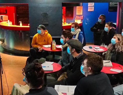 Accueil des stagiaires et présentation de la formation à l'ubu