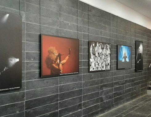 Image de l'exposition Musiciennes à la Médiathèque Lucien Herr